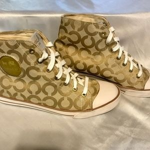 Coach High Top Sneakers-size 9B